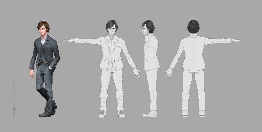 Miranda - Cor Character Concept