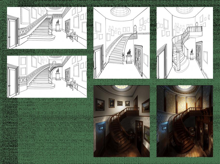 Staircase Evolution